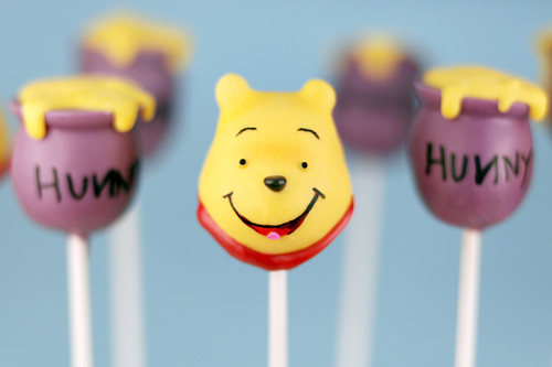 cake pops photo. Winnie the Pooh Cake Pops