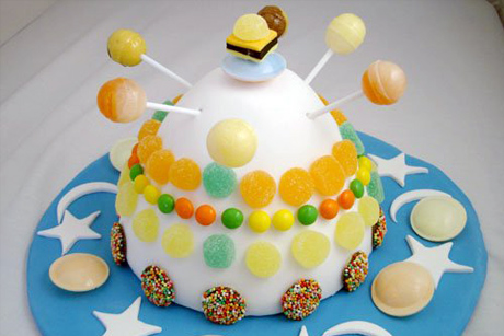 birthday cake for boys. hair first irthday cake